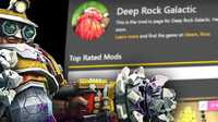 Deep Rock Galactic Modding Menu...