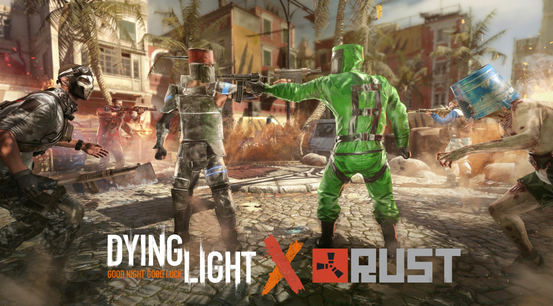 The Dying Light and Rust crossover event is now li