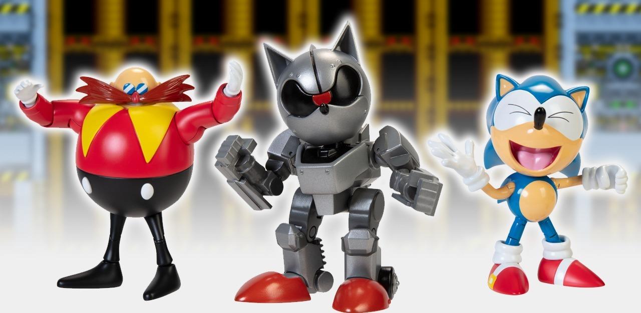 Jakks Pacific renews Sonic the Hedgehog license, reveals Mecha Sonic figure, more
