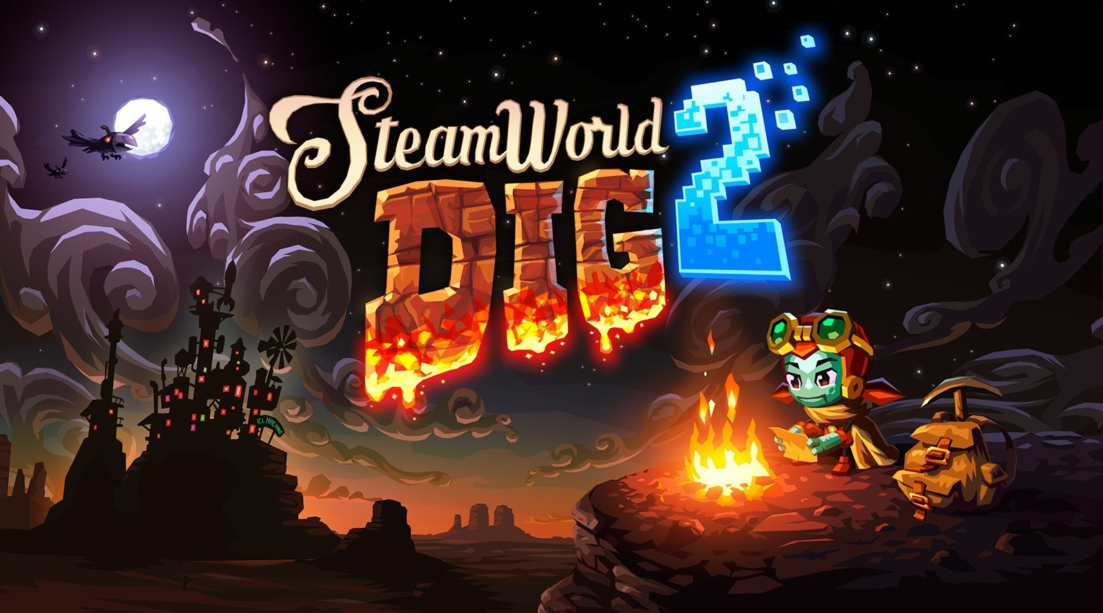 SteamWorld Dig 2 Review - Rock Solid