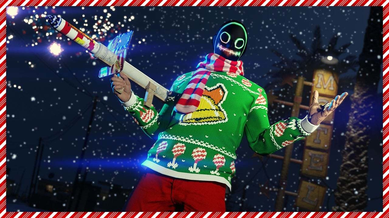 GTA and Red Dead Online celebrate Christmas with gifts aplenty