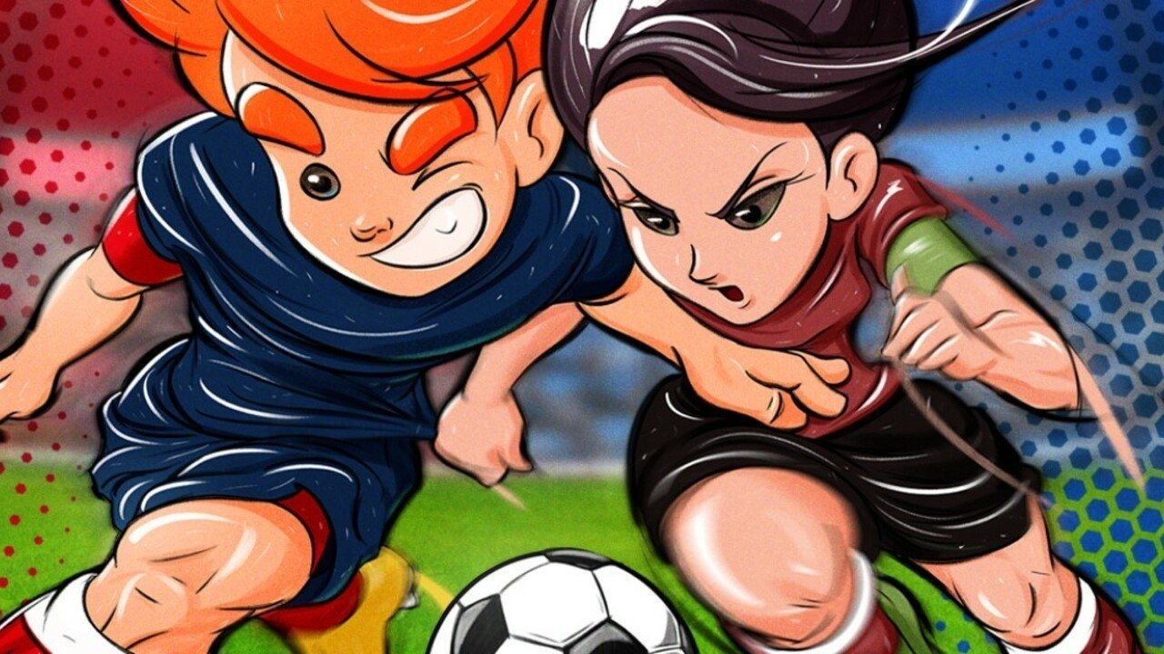 Super Soccer Blast: America VS Europe Review (Switch eShop