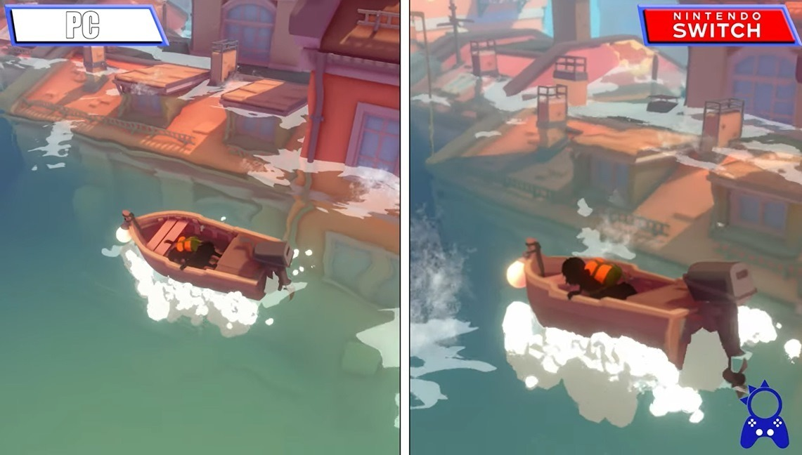 Video Sea of Solitude Switch vs PC comparison