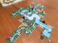 Carcassonne: Amazonas: Carcassonne Amazonas Review - Race Down The Iconic River