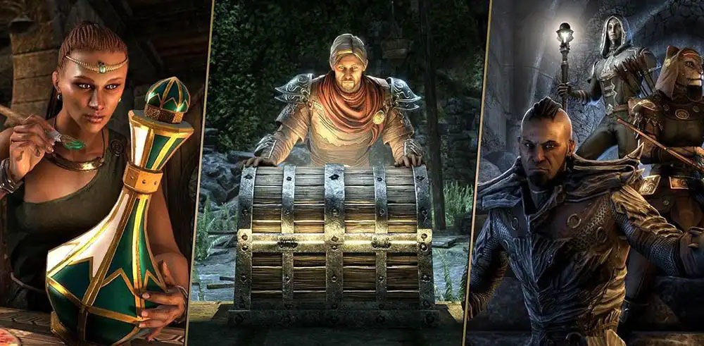 The Elder Scrolls Online Loot Crates Drop Real Money