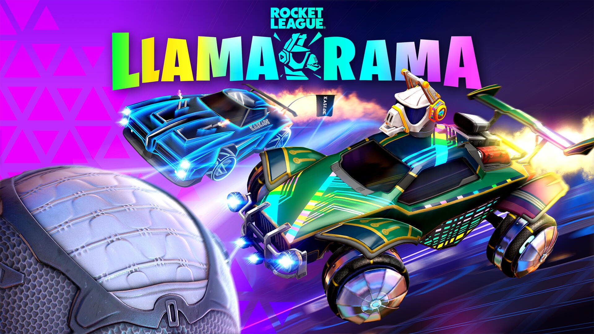Fortnite's Llama-Rama event returns to Rocket League on March 25th