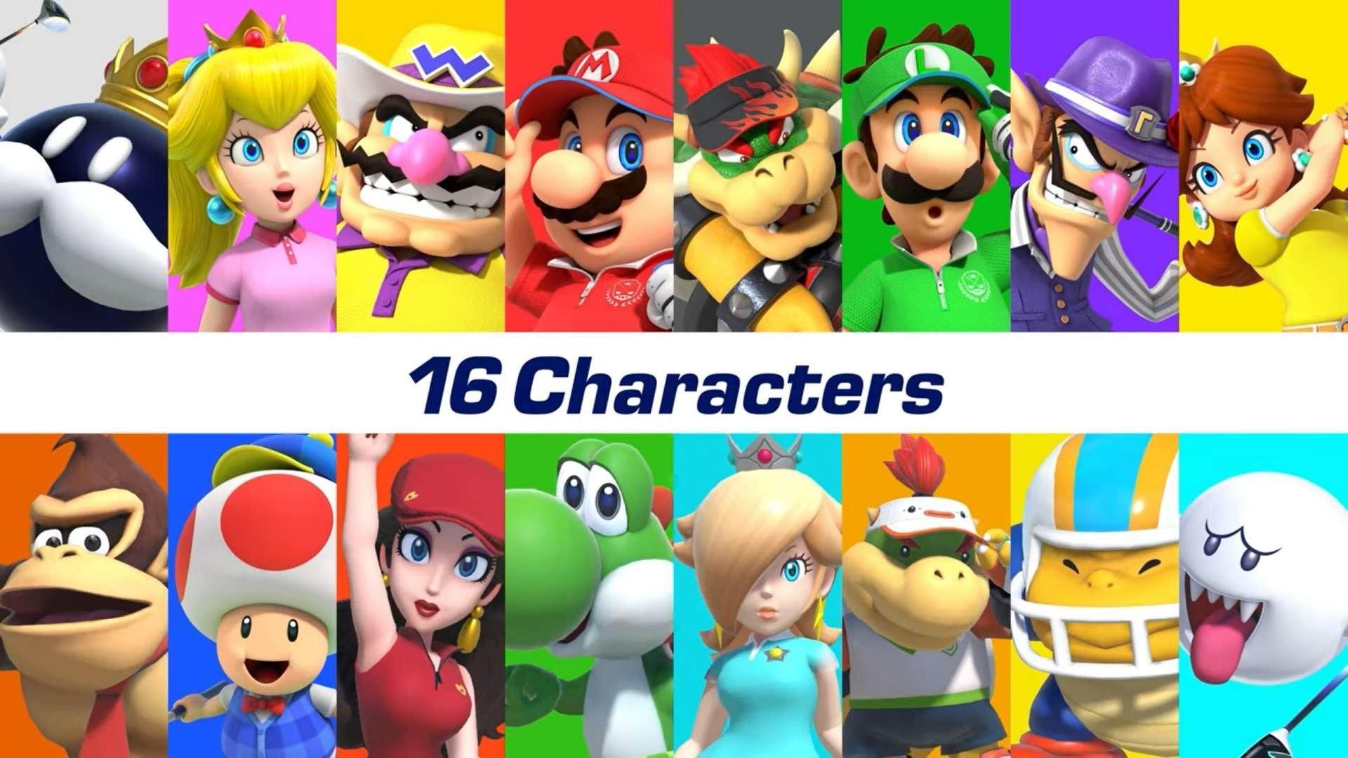 Mario Golf: Super Rush full roster confirmed