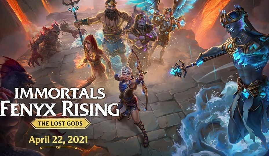 Immortals Fenyx Rising  The Lost Gods DLC launches