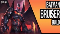 Arena Of Valor: HELLBAT BATMAN SKIN | Arena Of Valor BRUISER BUILD | AOV Mobile