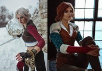 The Witcher Multitalented Cosplayer...