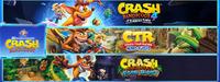 Crash Bandicoot Crashiversary bundle...