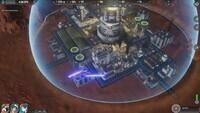 Scifi city builder Sphere  Flying...