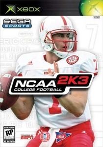 NCAA College Football 2K3 game