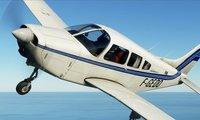 Microsoft Flight Simulator PA28...