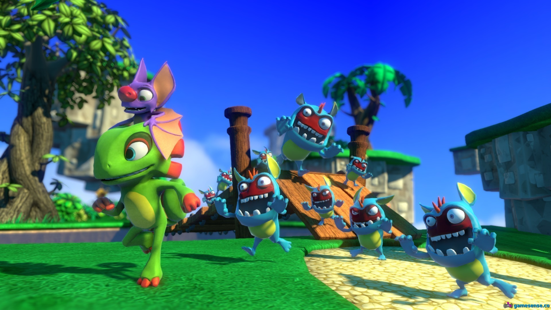 Huge Yooka-Laylee Patch Finally Comes to Consoles