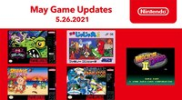 Latest SNES and NES Online titles...