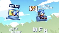 Sonic the Hedgehog helps promote...