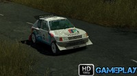 Colin McRae Rally 04: Colin McRae Rally 04 Gameplay : Peugeot 205 T16 Evo 2