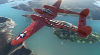 Microsoft Flight Simulator P38...
