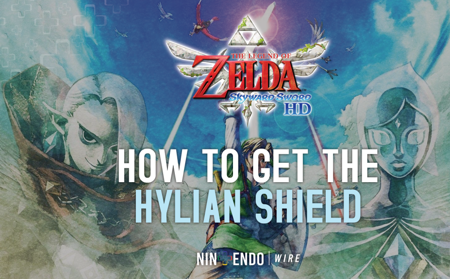 How to Get the Hylian Shield in The Legend of Zelda: Skyward Sword HD
