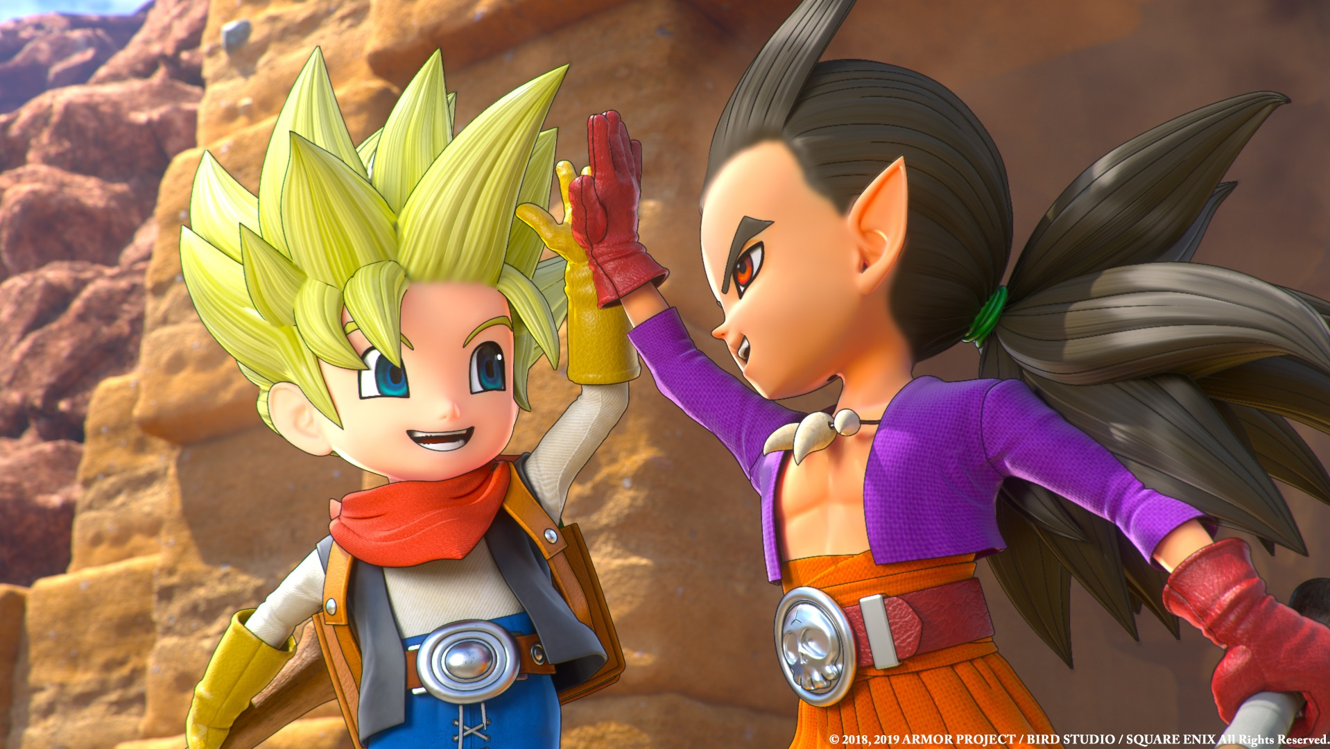 An Update to Dragon Quest Builders 2 Will Include More Hairstyles and an Epilogue