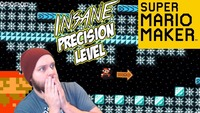 super mario maker: Super Mario Maker - I Will Hate Spikes And Ice After This! [Stream Highlights]