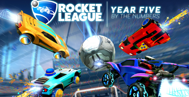 Celebrate Five Years of Rocket League With Sweet Statistics